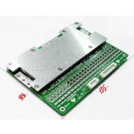 BMS с LED-индикацией 16 ячеек (16s) Li-Po 4.2v, 30A разряд, 10A заряд