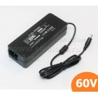Зарядное устройство 60В 2А для литиевых батарей