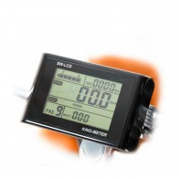 Экран LCD KM цифровой большой - на руль 36/48V