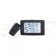 Экран LCD 2 цифровой средний - на руль 24/36V